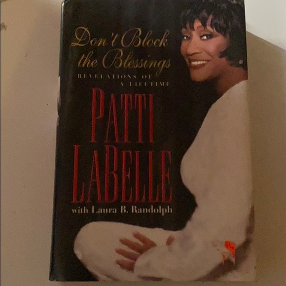 Don't block the blessing book by Patti LaBelle